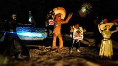 Jakku is ready to celebrate Mexico's Independence (nin2k5) Tags: starwars theforceawakens mexico independenceday blackseries toyphotography kyloren rey finn chewbacca
