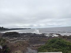 The Blow Hole, North Beach (jithomas.work) Tags: britishcolumbia blowhole northbeach haidagwaii