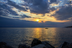 """        ""... .  (theseustroizinian) Tags: hellas hellenic hdr sea seaside sunset simplysuperb seasunandclouds seascape greece greek goldenhours peloponnese canoneos700d canon"