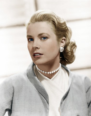 Grace Kelly (janetboleyns) Tags: 1 adults beauty celebrities females graceprincessofmonaco headandshouldersportraits headandshouldersstudioportr people performingarts portraits prominentpersons studioportraits whites women