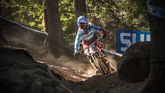rachel atherton (phunkt.com) Tags: uci dh downhill down hill mtb mountain bike world champ championship val di sole italy 2016 photos phunkt phunktcom keith valentine race final finals dust dusty