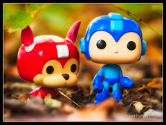 Wandering (Puffer Photography) Tags: stilllife utah funko megaman bountiful videogames toys funkofantasy 2016 pop minifigs actionfigures
