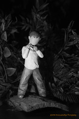 [2013-02-06@23.16.14a] (Untempered Photography) Tags: boy sculpture stilllife monochrome child figurine willowtree heartofgold project365 susanlordi canonefs1855mmf3556is canoneosrebelt3i untemperedeye untemperedeyephotography