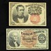 5003. Two U.S. Fractional Currency Notes