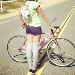 (jaxmeowmeow) Tags: cycling totoro gloomybear fixie torelli uploaded:by=flickrmobile flickriosapp:filter=nofilter