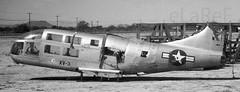 54-0148 Bell XV-3 Tilt-Rotor (eLaReF) Tags: masdc boneyard tucson az 540148 bell xv3 tiltrotor storage dm davismonthan davis monthan derelict desert airplane graveyard aeroplane bw black white