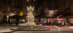 Place du parlement sainte catherine (reycedcar) Tags: france architecture hiver bordeaux paysage nuit aquitaine gironde parlementsaintecatherine