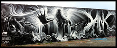 'Gas Spectre' wall (Dan Kitchener - DANK) Tags: graffiti letters gasworks graff essex esp pilot dank chelmsford espcrew thepilot liquitex essexgraffiti dankitchener imcrew airbornemark dankgraffiti epicscaleproductions chelmsfordhalloffame liquitexspraypaint
