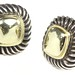 1044. Pair of Gold and Silver Earrings, David Yurman