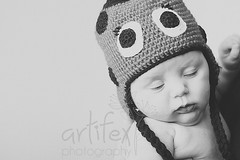 day 38 (melissaartifex) Tags: family newzealand christchurch baby cute hat children 50mm mono babies sleep sony knit commercial catchup artifex a550