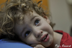 (Meir Naamat) Tags: portrait children 50mm child blond f18 amit