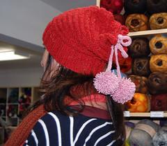 Kathmandu Aran Hat in Red