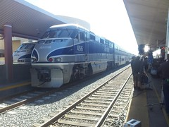 Work, work, work (swoofty) Tags: train amtrak f59phi laupt