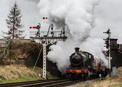 GWR (alanrharris53) Tags: train engine steam loughborough gwr liecestershire greatcentralrailway 3803 gcr churchward