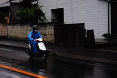 _DSC1807 (Kohji Iida) Tags: street bicycle silhouette japan photography japanese 50mm nikon bokeh gear scooter 18 hang kohji tsuchiura ibaraki iida d90