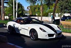 Ferrari 599 GTB Mansory Stallone (piolew) Tags: white top ferrari monaco mc carlo monte marques 2012 stallone gtb 599 mansory tm12