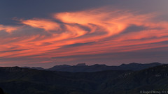 20130225-122-Sunset clouds and Overland Track peaks (Roger T Wong) Tags: sunset camp clouds trek nationalpark walk australia hike tasmania np bushwalk tramp wildrivers franklingordonwildriversnationalpark frenchmanscap canonef24105mmf4lisusm canon24105 canoneos6d laketahune