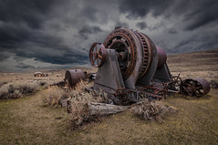 Rusty Machine in Bodie (karjul) Tags: california vacation usa nikon urlaub nevada machine rusty northamerica bodie amerika rostig 2012 kalifornien maschine d90 monocounty nordamerika explored mygearandme blinkagain urlaubusa2012 vacationusa2012