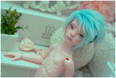 Little Fish (Bluoxyde) Tags: boy art toy mod doll ooak bjd custom abjd narsha zihu
