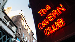 The Cavern (Brian Negus) Tags: england sign liverpool unitedkingdom beatles cavernclub blindphotographers