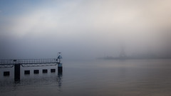 063 // 365 - Harbor morning - Hafenmorgen (Frank Lindecke) Tags: fog deutschland harbor nebel 365 hafen kiel schleswigholstein project365 365project onephotoaday project36563 photoeveryday 2013yip project36520130304