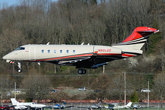 Private N800BD (Drewski2112) Tags: seattle county field airport king international boeing 300 challenger bombardier bfi kbfi cl30 n800bd