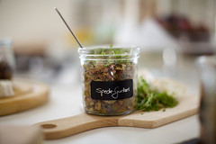 Speckgurkerl (anjarlampert) Tags: food photography bacon gurke gherkin speck
