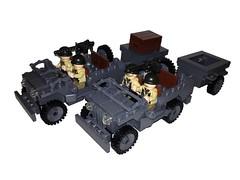 Willy's jeeps ( Warbricks) Tags: world war lego jeep ww2 willys brickarms brickmania