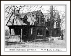 1898 ca - The Niedringhaus Cottage, 5970 Plymouth Ave.,  St. Louis, MO,  by Theodore C. Link, Architect, (carlylehold) Tags: t link theo carl theodoreclink karl architect st louis mo carlylehold haefner robertchaefner history happened here happens robert c bob