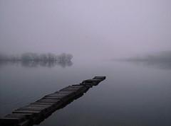 A quiet start (explore) (kenny barker) Tags: fog scotland day explore 20mm lochard scottishlandscape kinlochard olympusep1 kennybarker
