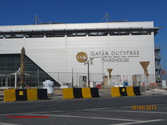 Qatar DutyFree Warehouse in Hamad Int'L Airport - Qatar . (Feras Qaddoora) Tags: new airport international hamad doha qatar      ndia