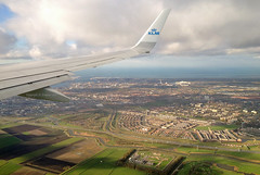KLM - PH-BCB - Out of the window (Andrew_Simpson) Tags: ocean city sea sky cloud holland water netherlands field amsterdam clouds plane airplane landscape town inflight aircraft wing aeroplane fields windowview boeing winglet klm schiphol ams 737 winglets eham 737800 wingview royaldutchairlines amsterdamairport amsterdamschiphol skyteam amsterdaminternationalairport aircraftwing klmroyaldutchairlines skyteamalliance phbcb