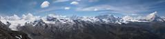 Panorama Walliser Alpen Schweiz (arjuna_zbycho) Tags: mountain mountains schweiz switzerland suisse swiss glacier berge alpine gornergrat zermatt matterhorn alpen svizzera gletscher wallis góry ch valais cervino montecervino montcervin vallese lecervin kantonwallis walliseralpen dshore