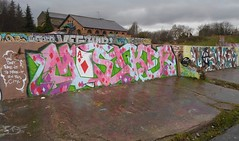 north london 2013 (Massiwarrior.....) Tags: cold london wet rain graffiti rainyday ace masi diamond writer playingcard tottenham masika masica masicre masiker