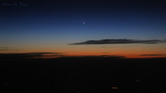 Cometa Panstarrs do Avio (Comet Panstarrs from Airplane) (Fabiano Diniz) Tags: