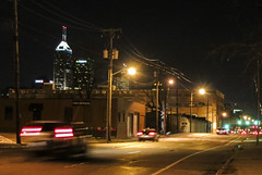 Indianapolis from the East (Ted Somerville) Tags: city indianapolis indy indiana hoosier naptown