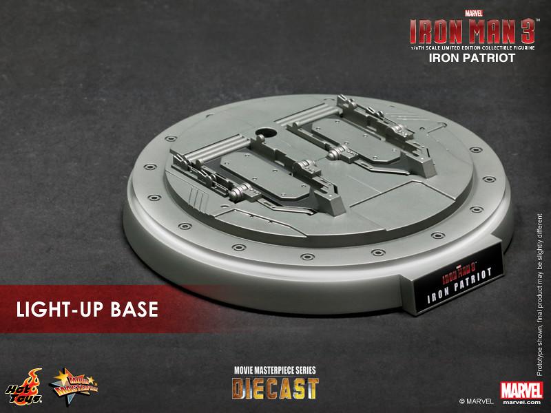 Hot Toys - MMS195D1 - 鋼鐵人: 1/6比例「鋼鐵愛國者」