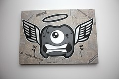 Paperized Canvas - Go To India #2 - 04 (Jepeinsdesaliens) Tags: india art lines illustration paper graffiti design sketch newspaper noir drawing dessin characters posca poscapens poscaart poscadesign hindies