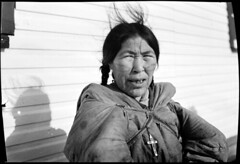 Aivilingmiut woman with facial tattoos (maaCambridge) Tags: canada tattoo paterson nunavut repulsebay facialtattoo aivilingmiut thomaspaterson naujat
