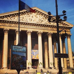 La Madeleine - Paris (OnaMissionMedia) Tags: square squareformat mayfair iphoneography instagramapp uploaded:by=instagram