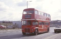 RML 2673 Crickelwood 18-3-82 (dsj672) Tags: routemaster rm aec