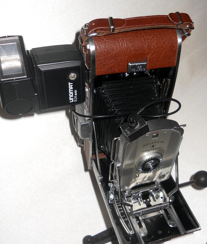the world s best photos of adapter and polaroid flickr hive mind Polaroid 4X5 Sheet Film Polaroid 600SE Craigslist