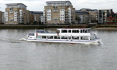 London - Thames River Traffic (Darlo2009) Tags: uk greatbritain england london thames boat ship unitedkingdom gb riverthames cityoflondon cityofwestminster londonrose viscountcruises campionlaunches