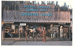 PAGOSA SPRINGS TRADING POST (The VIKINGS are Coming!) Tags: camping gear guns flyfishing worms wildwest ammunition fourcorners pagosasprings curios mountainman southwestcolorado tradingpost nightcrawlers sportinggoods fishinggear ralphgallagher woodenindians usedguns logandstone carvedcigarstoreindians frontierarchitecture carlbolt