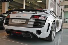 R8 GT (Wannes P. Photography) Tags: white car belgium gt audi rare supercar antwerpen matte 52 dealer quattro r8 fsi
