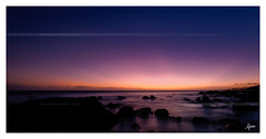 La fin d'un jour / The end of a day (djimos) Tags: sea reunion twilight nikon sigma paysage crpuscule nocturne runion 974 heliopan d7000 djimos