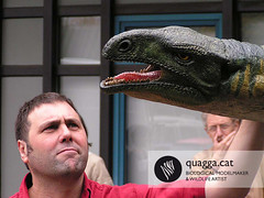 Plateosaurus (Quagga Associats) Tags: park public glass germany outdoors fire zoo one for model eyes paint with dinosaur nest very outdoor 5 five metallic egg double structure newborn layer and polyester to areas resin offspring reconstruction internal conditions in plasticine moulded sculptured quagga retardant resistant plateosaurus hyperrealist sillicone ramonlopez indicidual