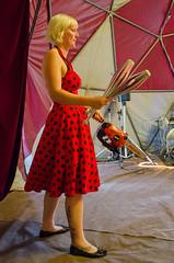 Ell Bella juggling @ The Bally #3 (nikabuz) Tags: summer festival performingarts arts chainsaw australia handheld juggling act bally corin circusperformers take2 circustent namadginationalpark brindabellamountains corinbank nikond7000 nikkor18105mmlens thebally corinbank2012 corinbankfestival2012