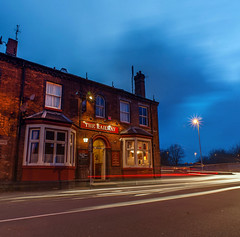 The Railway Inn (Raven Photography by Jenna Goodwin) Tags: light heritage beer station night photography pub inn long exposure cloudy drinking trails railway stokeontrent local staffordshire fenton potteries noctography 6towns