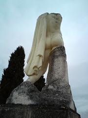 Itlica (eyair) Tags: statue sevilla spain ruins roman seville andalucia andalusia italica romanruins santiponce itlica ashmashashmash